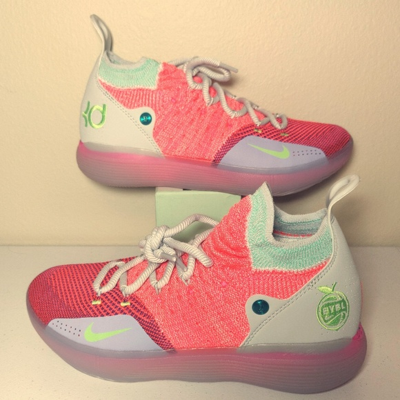 5781434833d Nike Zoom KD11 XI EYBL Size 8.5 AO2604-600. M 5c47e67b4ab633bd8c3a52cf